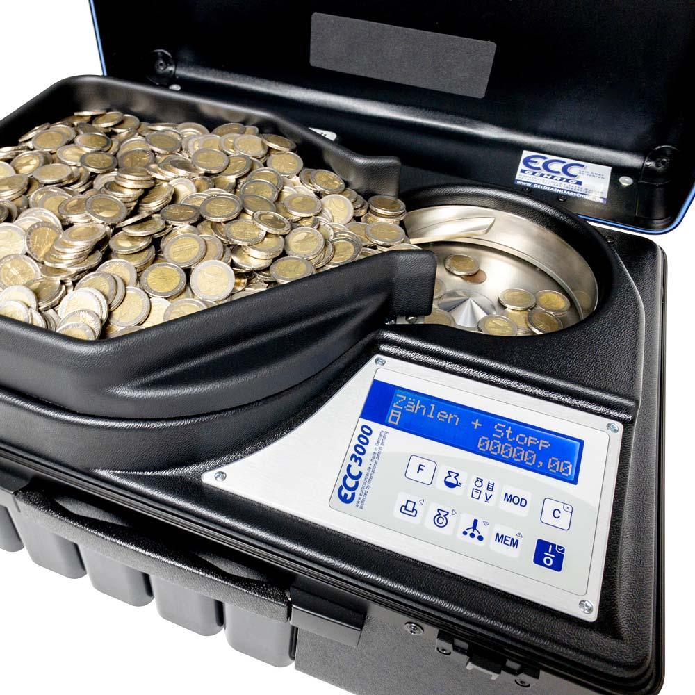 ECC3000 the fastest money counting machine