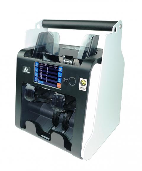 Banknote sorting machine Kisan K2 portable for 12V vehicles