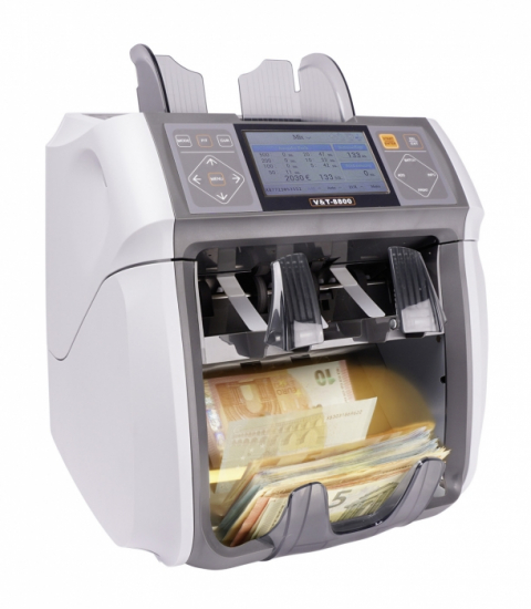 Banknote counter V&T 8800